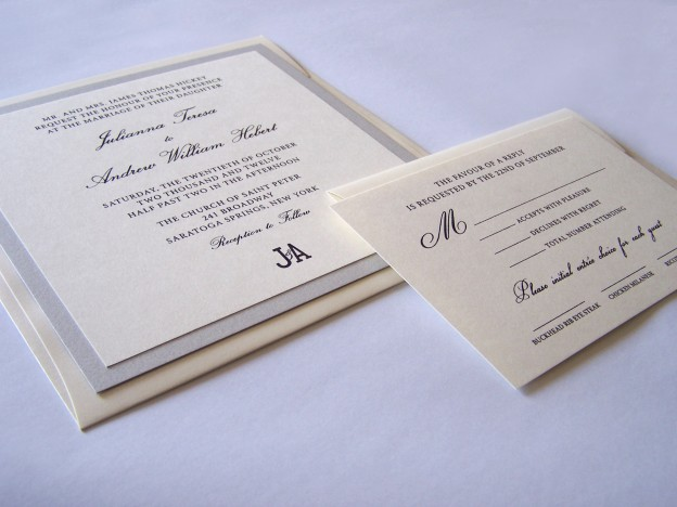 Thermography Weding Invitations 010 - Thermography Weding Invitations