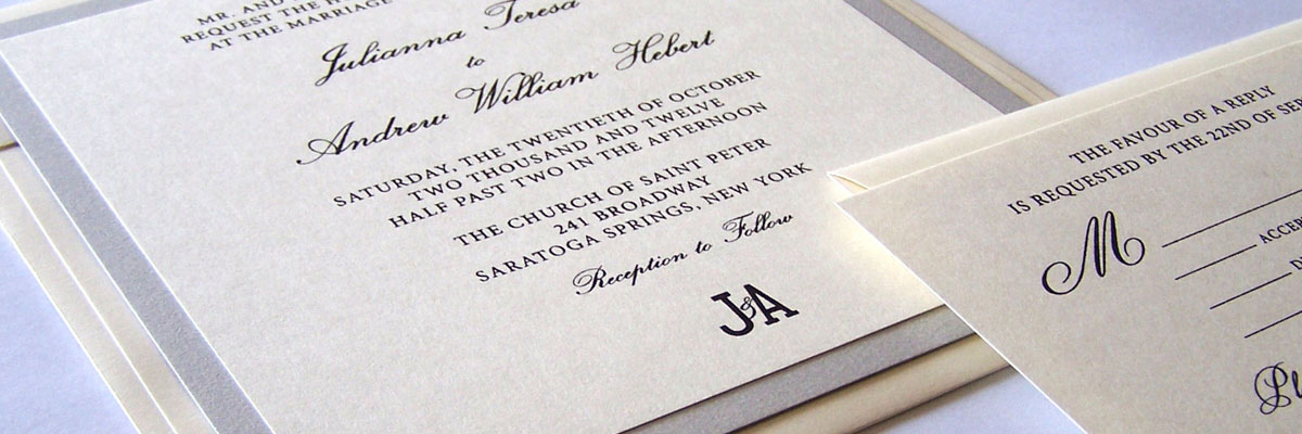 Thermography Weding Invitations 012 - Thermography Weding Invitations