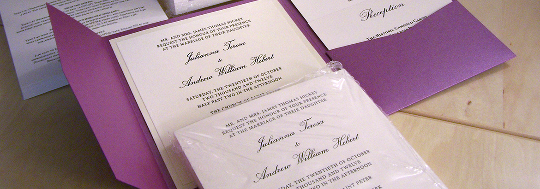 Assembling pocket wedding invitations white tie designs assembling pocket wedding invitations junglespirit Choice Image